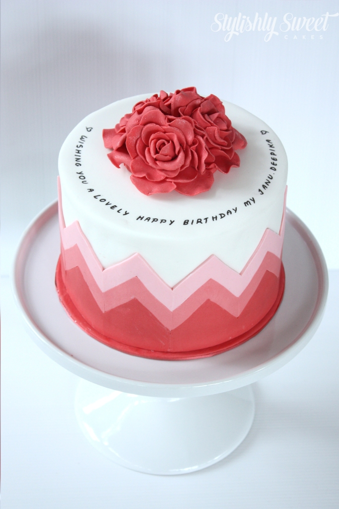 Chevron_birthday_cake