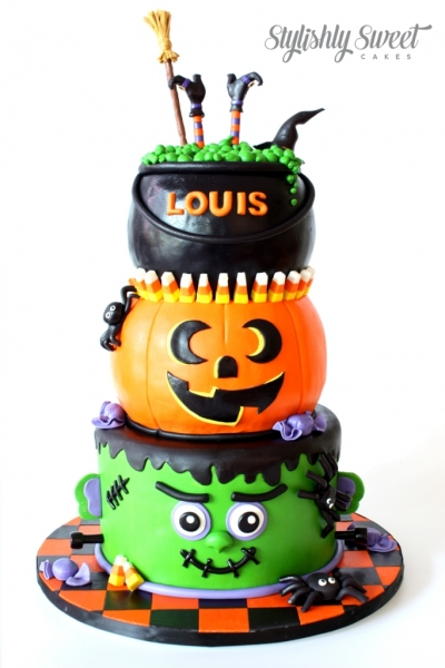 HALLOWEEN CAKE FRONT 1