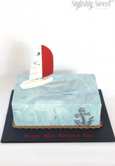 60th Yatch cake_01