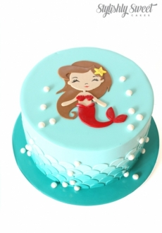 MERMAID SCALE CAKE_1
