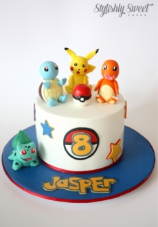 POKEMON CAKE SINGLE 1