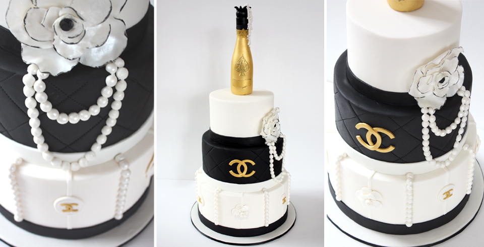 Chanel Birthday Cupcakes images