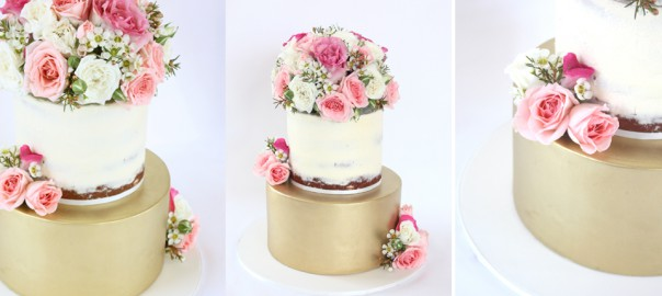 Spring Cakes Fresh Flowers And The Naked Cake
